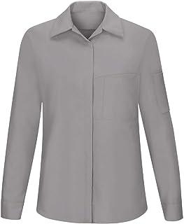 Red Kap mens Red Kap® Women's Long Sleeve Performance Plus Shop Shirt with OilBlok Technology Shirt