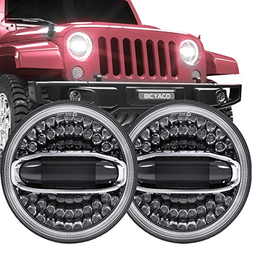 Newest Design 7 Inch LED Halo Headlights with Turn...