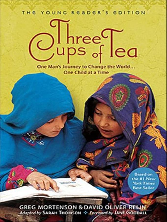 神社局慎重Three Cups of Tea (The Young Reader's Edition): One Man's Journey to Change the World... One Child at a Time (English Edition)