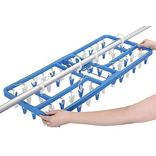 ベーシックタイプのハンガーに、使いやすい工夫がたくさん。 LAUNDRY 洗濯用品 ソラーラ SLA サイドフック付角ハンガー ピンチ60個付 〈簡易梱包