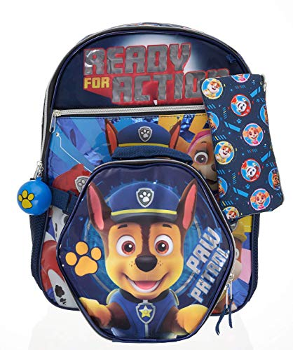 PAW Patrol Kids 5-Piece Backpack Set