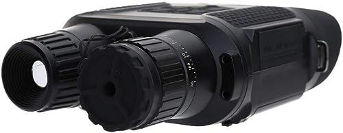 L.tsn Vision Nocturne Binoculaire Haute Définition Grossissement Infrarouge Numérique Portée Dispositif Optique Grand écran, noir