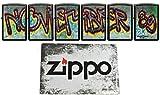 1989 ZIPPO Berlin Wall XXX/300 - Juego de coleccionistas (30 Piezas), diseño de Muro de Caza