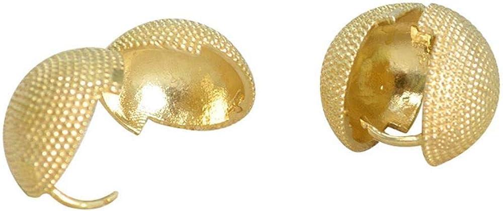 Small Gold Cuff Earring Tiny Round Stud Earrings Cute Heart Shape Earrings Jewelry Gift Gold Plated Cuff Earrings Hypoallergenic Small Earrings Jewelry for Women Girl