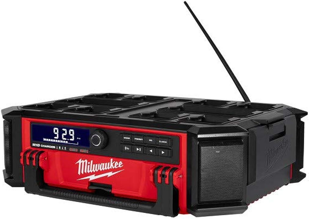 Radio di rete prcdab+-0 con funzione di ricarica milwaukeee m18 packout 4933472112
