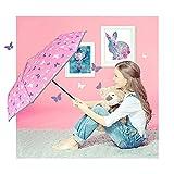 Zoom IMG-1 perletti ombrello pieghevole bambina con