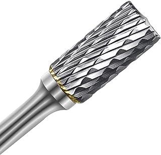 ASNOMY 1 Pc Di Fresatur Frese In Acciaio Al Tungsteno In Metallo Duro Set Di Frese Rotative Testa Per Rettifica Di File 6...