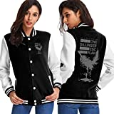 Photo de BAQQC Femme Manteaux et Blousons, Manteaux, The Dillinger Escape Plan The Killer Feather Women's Varsity Baseball Hoodie Jacket Outerwear Coat par