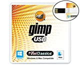 GIMP Photo Editor 2021 Compatible with Adobe Photoshop Elements CC CS6 CS5 15 Premium Professional Image Editing Software on USB for Windows 10 8.1 8 7 Vista XP PC & Mac - No Subscription Required!