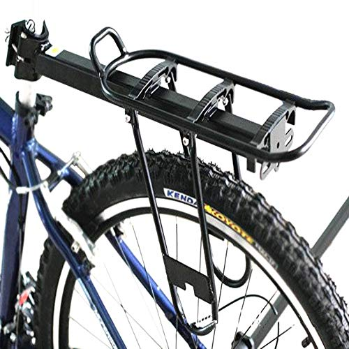 Best Bargain Liweibao Bike Carrier Rack Mountain Carrier Rear Rack Seat Luggage Bags Bicycle Pannier...