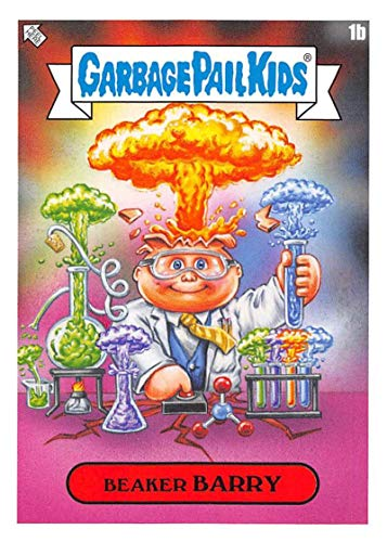 2020 Topps Garbage Pail Kids Late to School Faculty Lounge NonSport #1B BEAKER BARRY Chemistry