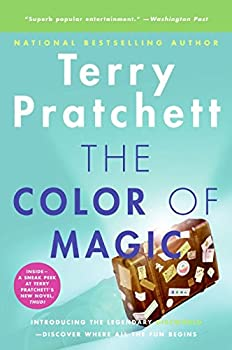 Paperback The Color of Magic : A Discworld Novel Book
