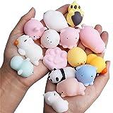 25 PCS Squishy Animaux Toys, Slow Rising Kawaii Mini Fun Enfants Anti-Stress Jouets