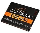 JuBaTec original Akku für Samsung Galaxy S4 Mini GT-i9190 mit 2100 mAh ersetzt EBB500BE