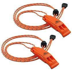 Image of LuxoGear Emergency Whistles...: Bestviewsreviews