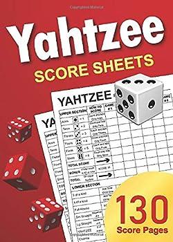 yatzee score sheet