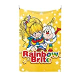 FDDFOA Rainbow Brite Tapestry Wall,Rooms Decorative Blankets,Family Wall Hangings,Dormitory Party Decoration Tapestries Table Cloths,Picnic Cloths,Porch Hanging 60x40 Inch