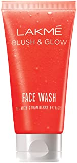 Lakmé Clean Up Strawberry Face Wash, 50g