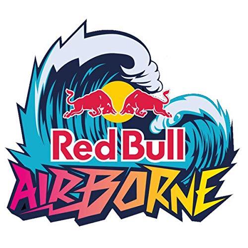 Stickers rétro réfléchissant pour Casque Red Bull Airborne