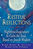 Restful Reflections: Nighttime Inspiration to Calm the Soul, Based on Jewish Wisdom