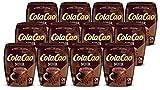 Cola Cao 46494 Noir: con Una Selección de Cuatro Variedades de Cacao Diferentes y con 0% de Azúcares Añadidos 12 Envases de 300 g