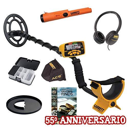 Garrett Ace 300i PRO Pointer at Buch Promo 55° Anniversario Metal Detector