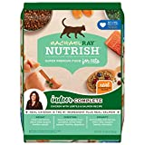 Rachael Ray Nutrish Indoor Complete Premium Natural Dry Cat Food, Chicken with Lentils & Salmon Recipe, 14 Pounds (Packaging May Vary)