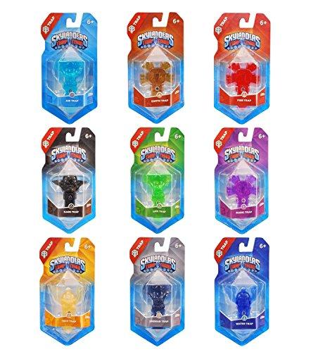 Skylanders Trap Team - Piège: Element Value Trap Pack (9 Piège)