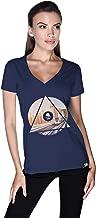 Creo Dubai T-Shirt For Women - Xl, Navy