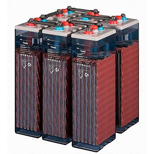 Baterías Solar Fotovoltaica TAB 4 OPzS 200-300Ah 2V vida diseñada 20 años (6 piece 12v)