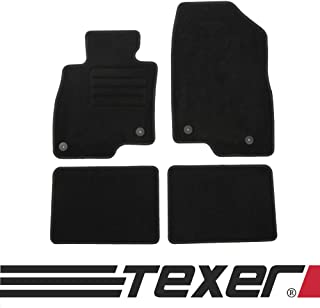 Velour Fußmatten Satz für Mazda 6 III GJ ab 12 Passgenau - Premium Qualität
