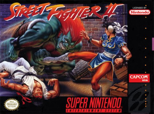 Street Fighter II SNES (US Version)