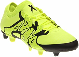 Men's Soccer X15.1 Firm/Artificial Ground Cleats (8.5) Solar Yellow/Black