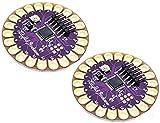 TECNOIOT 2pcs Lilypad 328 Main Board ATmega328P ATmega328 16M |2 unids Lilypad...
