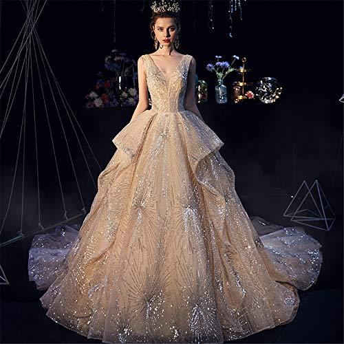 Vestido De Novia Champagne