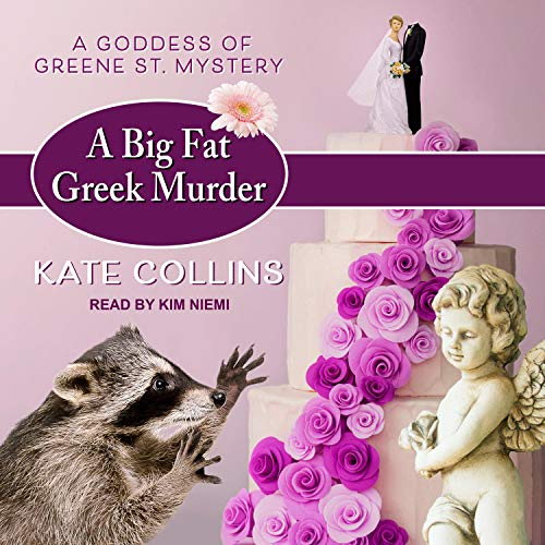 A Big Fat Greek Murder Audiobook By Kate Collins cover art