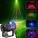 Mini Party Laser Light Stage DJ Disco Lights, Sound Activated Strobe Lights