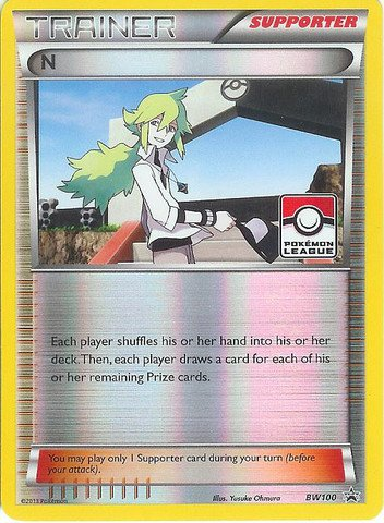 Pokemon - N (BW100) - BW Black Star Promos - Holo