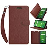 Swoders for Cricket Ovation Wallet Case, AT&T Radiant Max