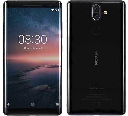Nokia 8 Sirocco LTE 128GB Nero SIM Free