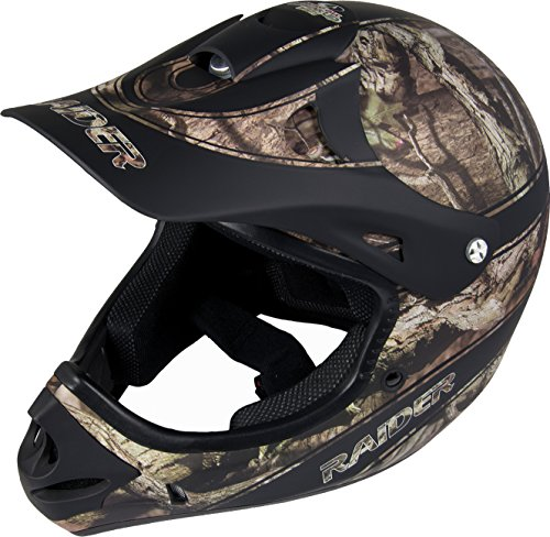 Raider Ambush Mossy Oak Unisex-Adult MX Off-Road Helmet (Break-Up Infinity Camo, Large)