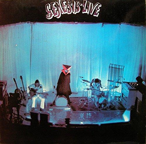Genesis 'Genesis live' LP THE FAMOUS CHARISMA LABEL 6369 942 L Italy 1973