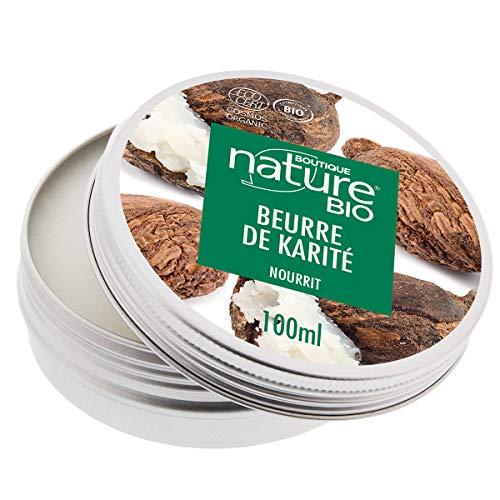 Boutique Nature - Beurre de karité - Pot de 150 ml - Pour une hydratation en profondeur