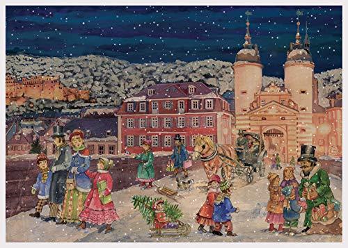 Adventskalender Heidelberg Papier Adventskalender A3 Sellmer Verlag
