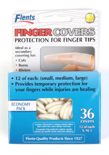 Flents Flents First Aid Finger Cots, 36 each (Pack of 2)
