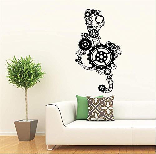 Technologie Abstrakte Wandaufkleber Moderne Mode Tapeten Für Mann Esszimmer Schlafzimmer Wandkunst Für Wohnkultur Wandbilder 43 * 77Cm