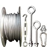 Baseball Batting Cage Cable Kit Outdoor Hardware