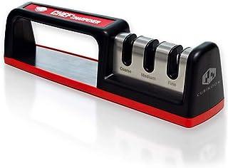 Cubikook Kitchen Knife Sharpener - Complete 3-stage Knife Sharpener CS-T01 with Diamond Dust Rods, Sturdy Design, Non-slip...