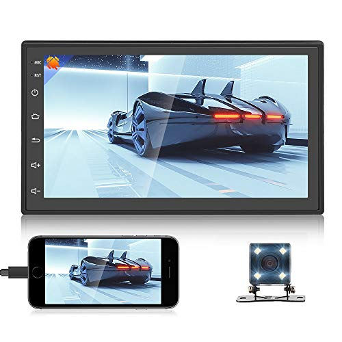 """Android 7/"""" Double 2Din Car Radio Stereo Player GPS Nav BT WiFi HD SWC Mirrorlink"""