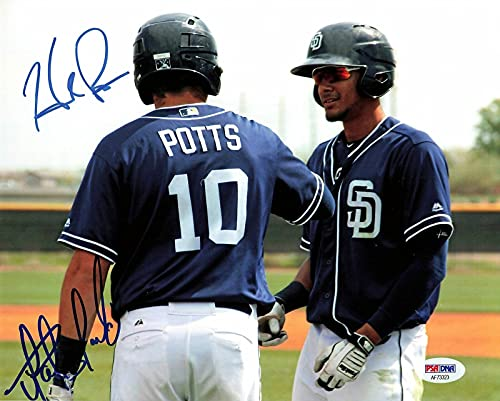 FERNANDO TATIS JR. Hudson Potts signed 8x10 photo PSA/DNA San Diego Padres Auto